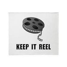 Keep Movie Reel Throw Blanket