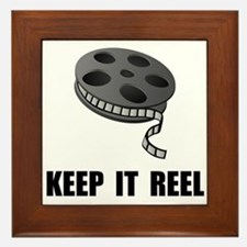 Keep Movie Reel Framed Tile