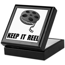 Keep Movie Reel Keepsake Box