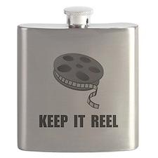 Keep Movie Reel Flask