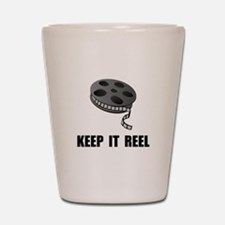 Keep Movie Reel Shot Glass