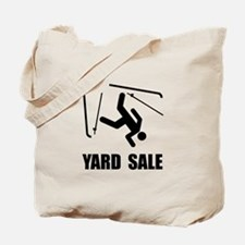 Ski Yard Sale Tote Bag