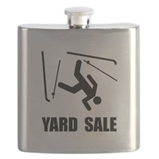Ski Yard Sale Flask