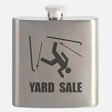 Ski Yard Sale Flask