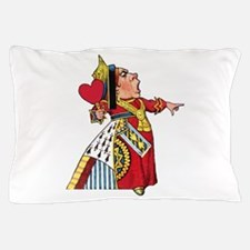 The Queen of Hearts Pillow Case