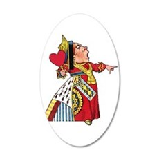 The Queen of Hearts Wall Decal