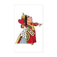 The Queen of Hearts Decal