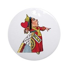 The Queen of Hearts Ornament (Round)