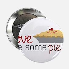 """Love Pie 2.25"""" Button"""