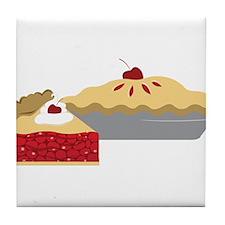 Cherry Pies Tile Coaster