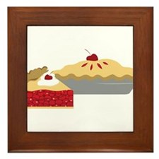 Cherry Pies Framed Tile