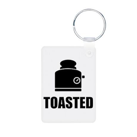Toasted Aluminum Photo Keychain