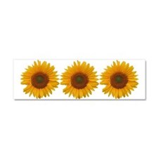 Sunflower-y Car Magnet 10 x 3