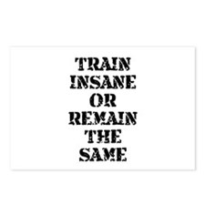 Train Insane Postcards (Package of 8)