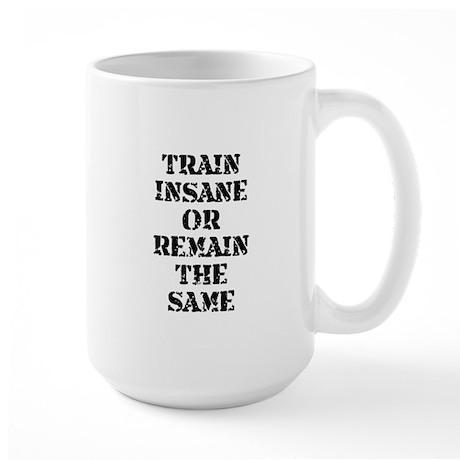 Train Insane Large Mug