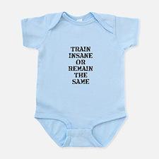 Train Insane Infant Bodysuit