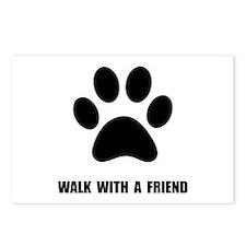 Walk Pet Postcards (Package of 8)