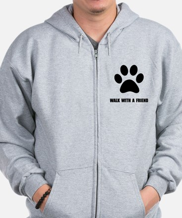 Walk Pet Zip Hoody