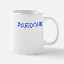 Blue, PARKOUR, Aged, Mug