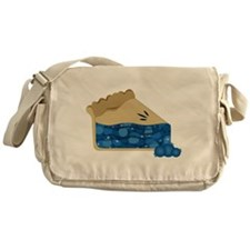 Blueberry Pie Messenger Bag