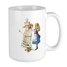 Alice Meets The White Queen Mug