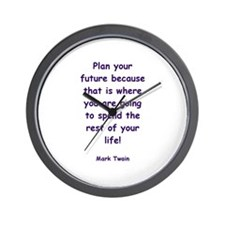 Cute Words and quotes Wall Clock