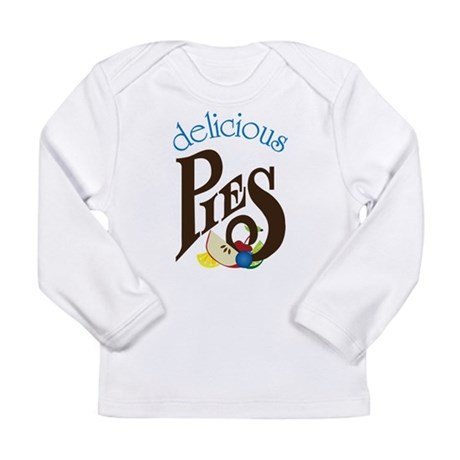 Delicious Pies Long Sleeve Infant T-Shirt
