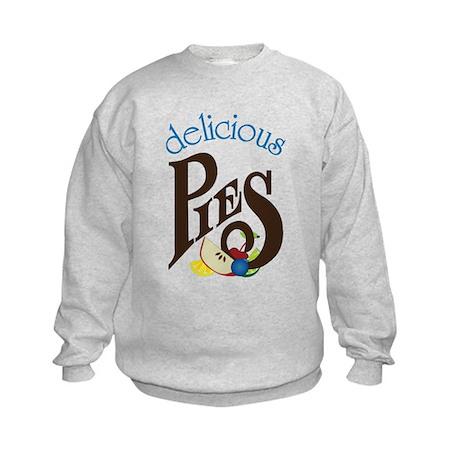 Delicious Pies Kids Sweatshirt