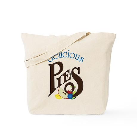 Delicious Pies Tote Bag