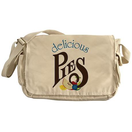 Delicious Pies Messenger Bag