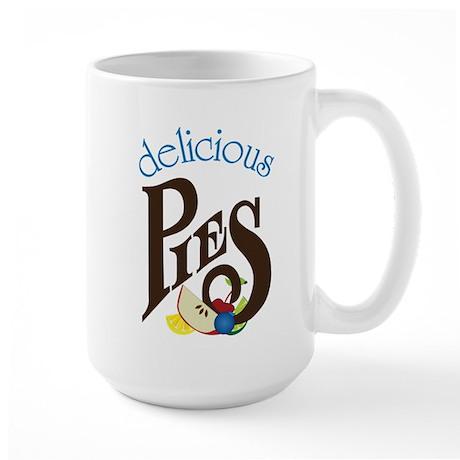Delicious Pies Large Mug