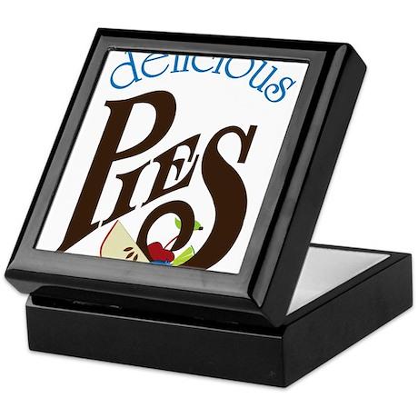 Delicious Pies Keepsake Box