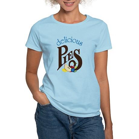 Delicious Pies Women's Light T-Shirt