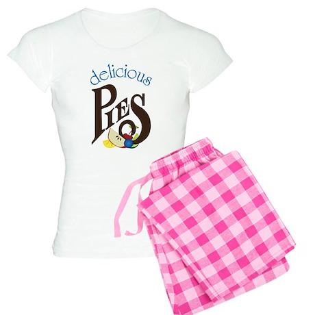 Delicious Pies Women's Light Pajamas