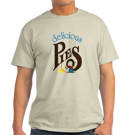 Delicious Pies Light T-Shirt