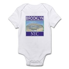 Brooklyn Baseball Stuff Infant Bodysuit