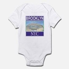 Brooklyn Baseball Stuff Infant Bodysuit