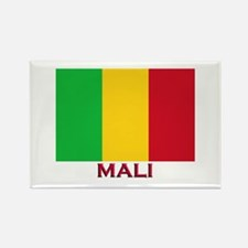 Mali Flag Stuff Rectangle Magnet