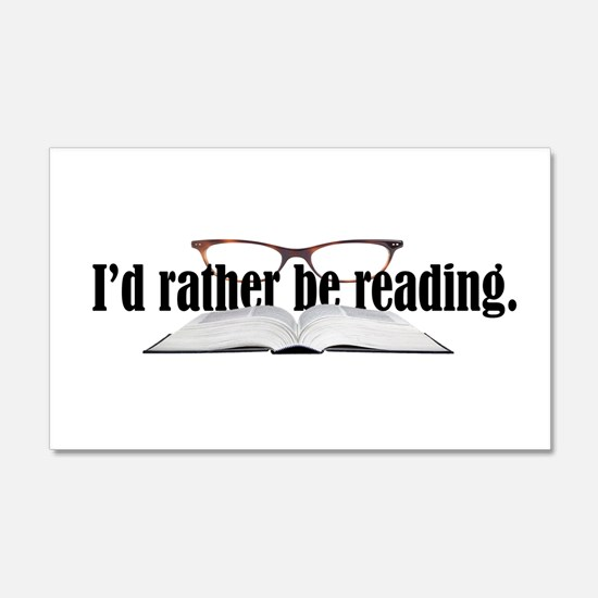 Rather Read Wall Sticker
