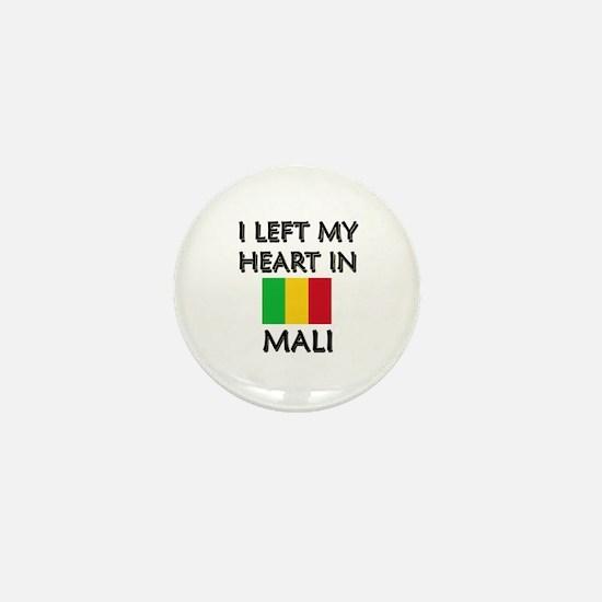 I Left My Heart In Mali Mini Button