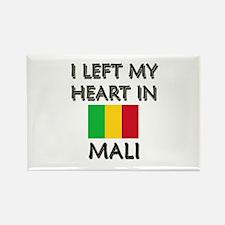 I Left My Heart In Mali Rectangle Magnet
