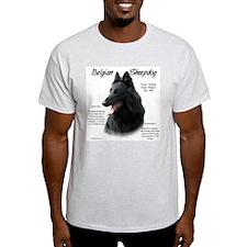 Belgian Sheepdog Ash Grey T-Shirt