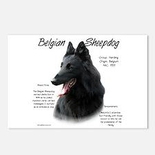 Belgian Sheepdog Postcards (Package of 8)
