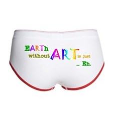 Earth Without Art Women's Boy Brief