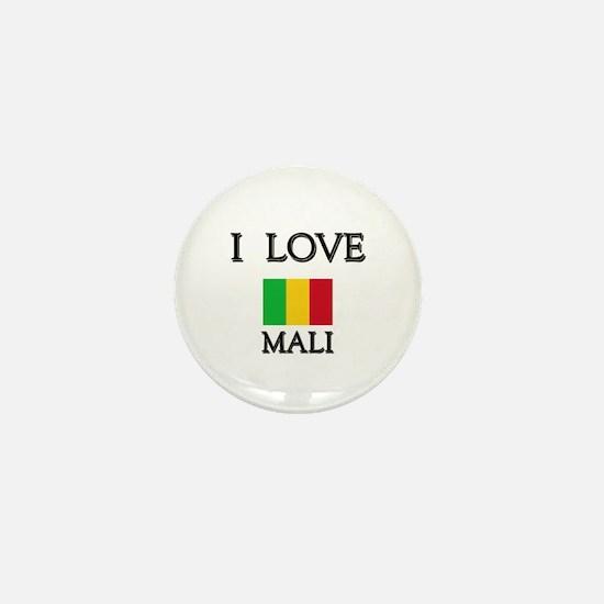 I Love Mali Mini Button