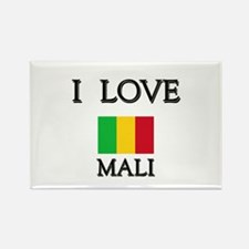 I Love Mali Rectangle Magnet