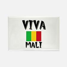 Viva Mali Rectangle Magnet