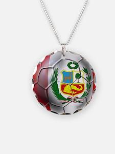 Peru Futbol Necklace