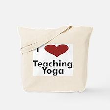 Tote Bag - I Heart Teaching Yoga
