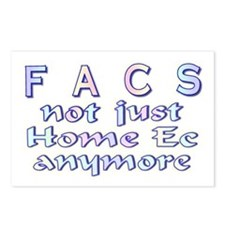 FACS not Home Ec Postcards (Package of 8)